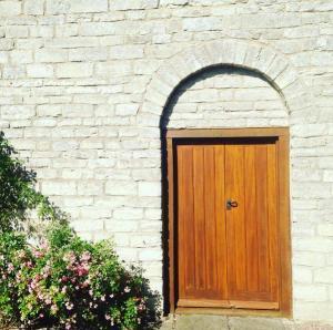 Gadfield Elm Chapel door