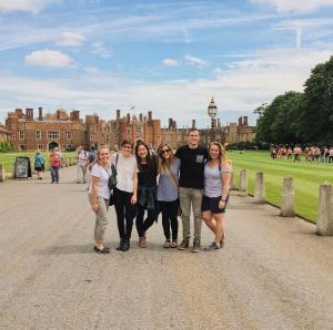 Hampton Court Palace Group shot 1