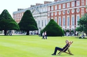 Hampton Court Palace Lawn