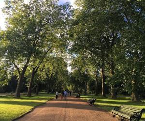 Kensington Gardens and Hyde Park